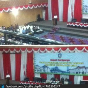 Situasi Sidang Paripurna DPRD Provinsi Kepri