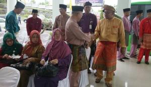 Walikota Tanjungpinang menyambut hangat para tamu undangan