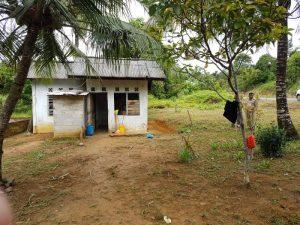 Rumah Sukiyah yang akan dibantu direnovasi oleh Hj Yuniarni Pustoko Weni